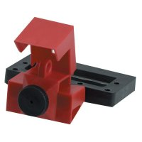 Brady Oversized Breaker Lockout Devices - Oversized Breaker Lockout Devices, 480/600V, Red - Brady - 262-65321