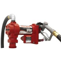 Fill-Rite® Rotary Vane Pumps with Hose and Manual Nozzle - Rotary Vane 115 Volt AC Pumps w/ Hose and Manual Nozzle, 1 in, 12 ft Hose - 285-FR4210G - Fill-Rite®