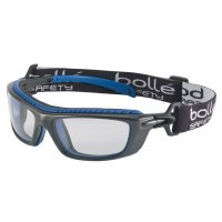 Bolle Baxter Series Safety Glasses - Baxter Series Safety Glasses, Clear Lens, Platinum Anti-Fog/Anti-Scratch - 286-40276 - Bolle