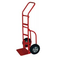 Milwaukee Hand Trucks Heavy Duty Hand Trucks with Flow Back Handle - Heavy Duty Hand Trucks with Flow Back Handle, 800 lbs Cap., Solid Rubber Wheels - Milwaukee Hand Trucks - 310-33007