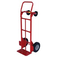 Milwaukee Hand Trucks Convertible Hand Trucks - Convertible Hand Trucks, 600 lb Cap., 8 in x 14 in Base Plate, Flow Back Handle - Milwaukee Hand Trucks - 310-47180