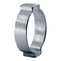Oetiker 2-Ear Clamps - 2-Ear Clamps, 7.3 mm, .7 mm Steel - 320-10100004 - Oetiker
