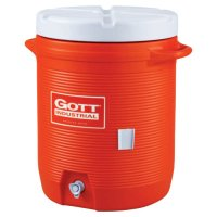 GOTT® Water Coolers - Water Coolers, 10 gal, Orange - 325-1610-IS-ORAN - Newell Rubbermaid™