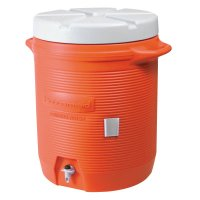 Rubbermaid Home Products Water Coolers - Water Coolers, 5 gal, Orange - 325-1840999 - Newell Rubbermaid™