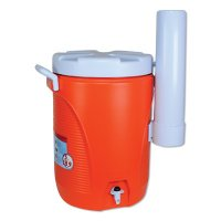Rubbermaid Home Products Water Coolers - Water Coolers, 5 gal, Cup Holder, Orange - Newell Rubbermaid™ - 325-1841106