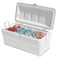 Rubbermaid Home Products Marine Coolers - Marine Coolers, 150 qt, White - Newell Rubbermaid™ - 325-FG2B8008TRWHT