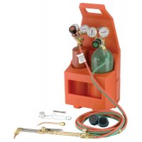Gentec Tote-A-Torch Outfits - Tote-A-Torch Outfits, Handle, Regulators, Cutting Tip, Hose, Carrier, Cylinders - Gentec - 331-12-PTC