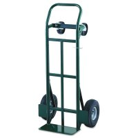 Super Steel™ Convertible Hand Trucks - Super Steel Convertible Hand Trucks, 700 lb Cap., 7 in x 14 in Base Plate - Harper Trucks - 338-JEDTK1935P
