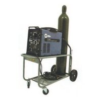 Saf-T-Cart Running Gear Series Carts - Running Gear Series Carts, Holds 1 Cylinder, 10 in Polyolefin Wheels - Saf-T-Cart™ - 339-MM-10