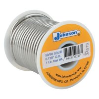 J.W. Harris Wire Solders - Wire Solders, Spool, Solid Core, 1/8 in, 50% Tin, 50% Lead - 348-505061 - J.W. Harris