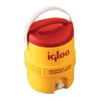 Igloo 400 Series Coolers - 400 Series Coolers, 5 gal, Red; Yellow - 385-451 - Igloo