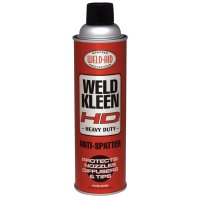 Weld-Aid Weld-Kleen® Heavy Duty Anti-Spatters - Weld-Kleen Heavy Duty Anti-Spatters, 20 oz Aerosol Can, Clear - 388-007030 - Weld-Aid