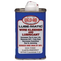 Weld-Aid Lube-Matic® Liquids - Lube-Matic Liquids, 5 oz Can, Clear - 388-007040 - Weld-Aid