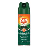 SC Johnson® OFF! Deep Woods® Insect Repellents - OFF! Deep Woods Insect Repellents, 6 oz Aerosol - 395-629374 - Diversey