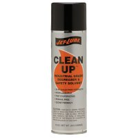 Jet-Lube Clean-Up™ Industrial Safety Solvent/Cleaners - Clean-Up Industrial Safety Solvent/Cleaners, 18 oz Aerosol Can - 399-61542 - Jet-Lube