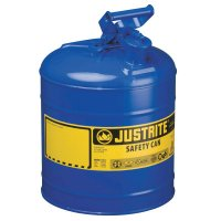 Justrite Type I Safety Cans - Type I Safety Cans, Flammables, 2 1/2 gal, Red - Justrite - 400-7125100