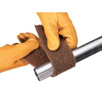 3M™ Abrasive Scotch-Brite™ Cut and Polish Roll Pads - Scotch-Brite Cut and Polish Roll Pads, Medium, Tan - 405-048011-05206 - 3M