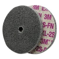 3M™ Abrasive Scotch-Brite™ EXL Unitized Deburring Wheels - Scotch-Brite EXL Unitized Deburring Wheel,3X3/8, Fine, 12100rpm, Silicon Carbide - 405-048011-14750 - 3M
