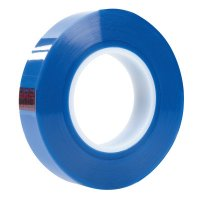 3M™ Abrasive 3M™ Industrial Polyester Tapes - Polyester Tapes, 1 in x 72 yards, Transparent Blue, Polyester/Silicone - 405-051115-62868 - 3M