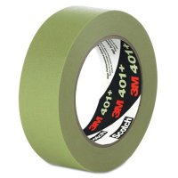 3M™ Industrial High Performance Masking Tapes 401+ - High Performance Green Masking Tape  401 , 48mm X 55 m - 405-051115-64763 - 3M