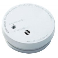 Kidde Battery Operated Smoke Alarms - Battery Operated Smoke Alarms, Smoke, Ionization, 5.6 in Diam - Kidde - 408-900-0136-003