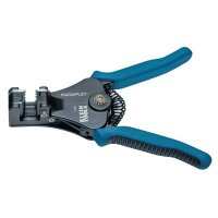 Klein Tools Katapult® Wire Stripper/Cutters - Katapult Wire Stripper/Cutters, 6 5/8 in, 8-22 AWG, Blue/Black - 409-11063W - Klein Tools