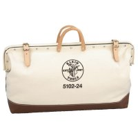 Klein Tools Canvas Tool Bag - Canvas Tool Bag, 1 Compartment, 24 in X 6 in - Klein Tools - 409-5102-24
