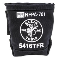 Klein Tools Flame-Resistant Canvas Bolt Bags - Flame-Resistant Canvas Bolt Bags, 1 Compartment, 9 in - KLEIN TOOLS - 409-5416TFR