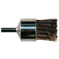 Anchor Brand Knot Wire End Brushes - Knot Wire End Brush, Carbon Steel, 1 1/8 in x 0.02 in - 102-1EB20 - Anchor Products