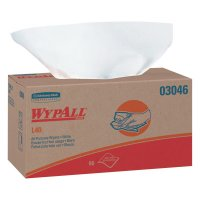 WypAll* L40 Towels - WypAll L40 Wipers, Pop-Up Box, White - 412-03046 - Kimberly-Clark Professional