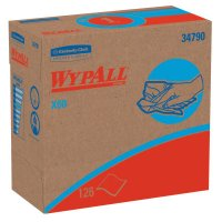 WypAll* X60 Wipers - WypAll X60 Wipers, Pop-Up Box, White, 126 per box - 412-34790 - Kimberly-Clark Professional