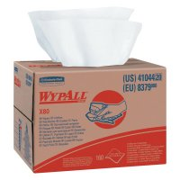 WypAll* X80 Cloths - WypAll X80 Towels, Brag Box, White, 160 per box - 412-41044 - Kimberly-Clark Professional