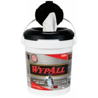 Kimberly-Clark Professional WypAll® Wipers in a Bucket - WypAll Wipers in a Bucket, White, 220 per bucket - 412-83561 - Kimberly-Clark Professional