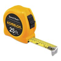 Komelon USA Speed Mark Tapes - Speed Mark Tapes, 25 ft x 1 in, Inch - Komelon USA - 416-SM3925