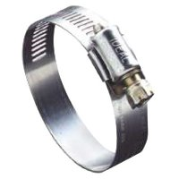"Ideal® Combo-Hex® 54-0 Worm Drive Clamps - 54 Series Worm Drive Clamp, 2 1/4"" Hose ID, 1 1/8-3""Dia, 201/301 Stainless Steel - 420-5440 - Ideal®"