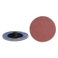 Quick Change 2-Ply Discs - Quick Change 2-Ply Discs, Aluminum Oxide, 2 in Dia., 36 Grit - 421-59525 - CGW Abrasives