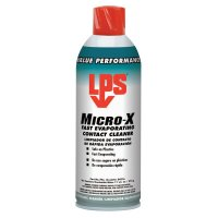LPS® Micro-X Fast Evaporating Contact Cleaners - Micro-X Fast Evaporating Contact Cleaners, 11 oz Aerosol Can - 428-04516 - ITW Pro Brands