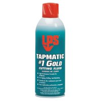 LPS® Tapmatic® #1 Gold Cutting Fluids - Tapmatic #1 Gold Cutting Fluids, 11 wt oz, Aerosol Can - ITW Pro Brands - 428-40312