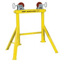 Sumner Hi Adjust-A-Roll Stands - Hi Adjust-A-Roll Stands, Aluminum Wheels, 2,000 lb Cap., 1/2 in-36 in Pipe - 432-780365 - Sumner