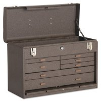 Kennedy Machinists' Chests - Machinists' Chests, 20 1/8 in x 8 1/2 in x 13 5/8 in, 1694 cu in, Brown Wrinkle - Kennedy - 444-520B