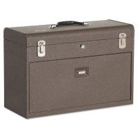 Kennedy Machinists' Chests - Machinists' Chests, 20 1/8 in x 8 1/2 in x 13 5/8 in, 1800 cu in, Brown Wrinkle - 444-620B - Kennedy