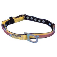 MSA Miners Body Belts - Miners Body Belt, Tongue Buckle, Fixed D-Ring, Medium - 454-415336 - MSA