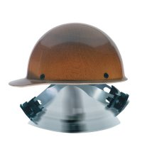 MSA Skullgard® Protective Caps and Hats - Skullgard Protective Caps and Hats, Swing-Ratchet, Cap, Natural Tan - 454-816651 - MSA