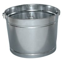 Magnolia Brush Metal Paint Pails - 5QT GALVANIZED METAL PAIL - 455-5QT - Magnolia Brush