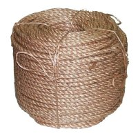 Anchor Brand Manila Ropes - Manila Ropes, 3 Strands, 3/8 in x 600 ft - 103-3/8X600-3SB - Anchor Products
