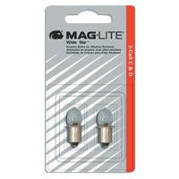 Mag-Lite® Mini AA Flashlight Replacement Lamps - Mini AA Flashlight Replacement Lamps, For Use With AA 2 cell - 459-LM2A001 - MAG-Lite®