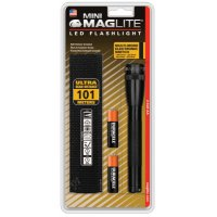 MAG-Lite® Mini Maglite® LED Flashlights - Mini Maglite LED Flashlights, 2 AA, Black - 459-SP2201H - MAG-Lite®