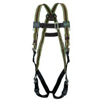Honeywell Miller DuraFlex® Stretchable Harnesses - DuraFlex Stretchable Harnesses, Back DRing, Mating Chest&Legs;Friction Shoulders - Honeywell - 493-E650/UGN