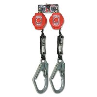 Honeywell Miller Twin Turbo™ Fall Protection Systems - Twin Turbo D-Ring Connector and two (2) MFL-4-Z7/6FT TurboLite PFL fts - 493-MFLB-4-Z7/6FT - Honeywell