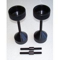 Flange Wizard® Two Hole Pins - Two Hole Pins, 5/8 in - 3 in, Extra Large Threaded - 496-42050-TXL - Flange Wizard®